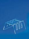 Подставка для сервиза на 3 предмета, (ш*в*г) 120*60*115мм